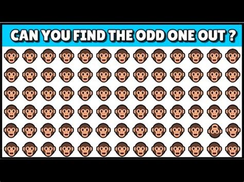 the odd one out solve this in 30s you are a genius can you find the odd one out in these pictures youtube
