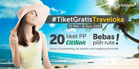 Tiket Promo Diskon 10 15 Dari Harga Traveloka promo tiket gratis dari traveloka
