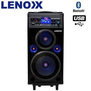 buy lenoxx 160w portable bluetooth speaker system