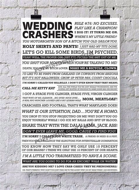 Wedding Crashers Quotes You Sandbaggin by The 25 Best Wedding Crashers Quotes Ideas On