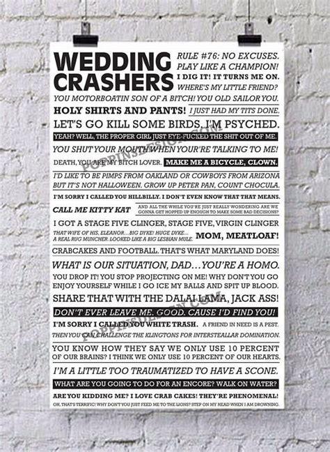 Best 25  Wedding crashers quotes ideas on Pinterest