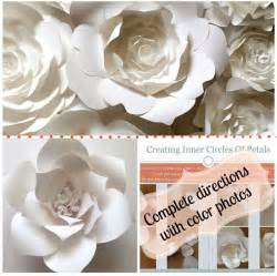 Paper Flower Template by 1000 Ideas About Paper Flower Templates On