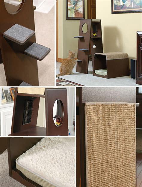 sauder scores big hit with new modern cat furniture line