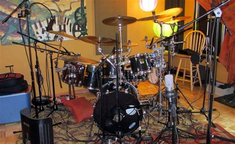 best room mics for drums which end lit end south sound sound recording studio