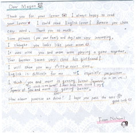 japanese letter project megan rowan s portfolio