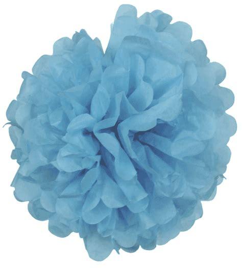 Pom Poms With Tissue Paper - tissue paper pom pom flower 20inch cornflower