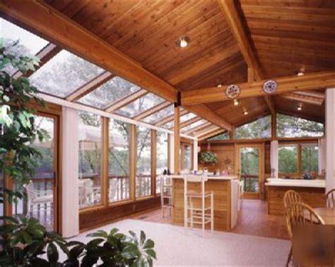 Lindal Sunrooms lindal pre cut cedar sunroom