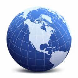 usa globe map vector sidmia
