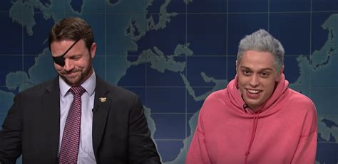 pete davidson youtube dan crenshaw dan crenshaw appears on snl to accept pete davidson s apology