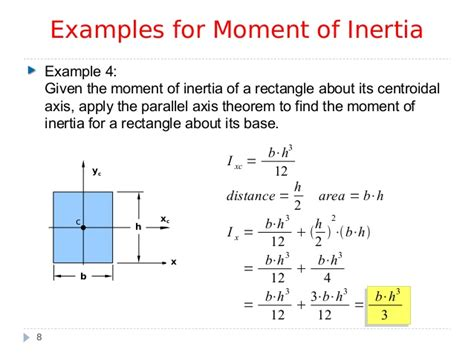Moment Of Inertia Rectangular Cross Section by Mi2