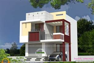 Home Design For Small Homes by Very Small Double Storied House Kerala Home Design And