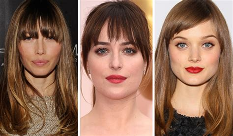 find out what haircut suits you what would i look like with a fringe take the fringe test
