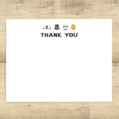 printable star wars thank you notes thank you cards archives page 2 of 2 pixie