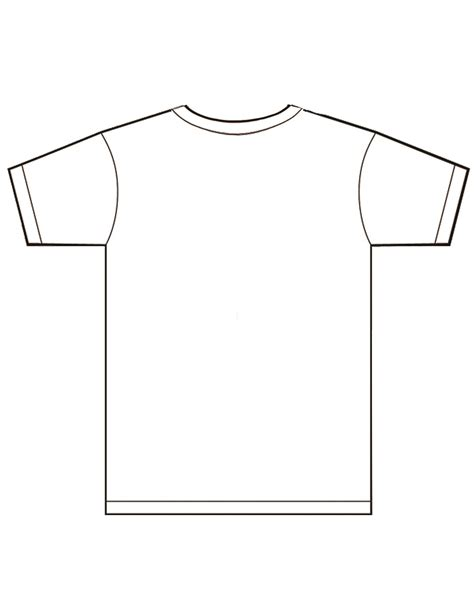 tshirt templates 11 t shirt template front and back images t shirt