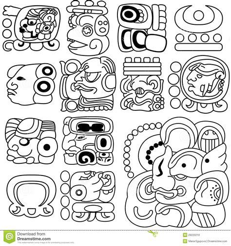 imagenes de jaguares para dibujar jerogl 237 ficos mayas im 225 genes de archivo libres de regal 237 as