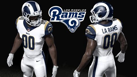 news on st louis rams rams unveil redesigned home and helmet for 2017