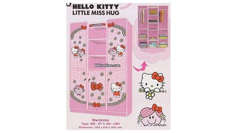 Set Anak Hello 3 lemari anak hello wd kt 3 180 lmh new