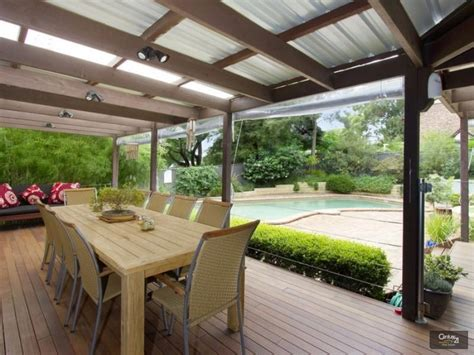 outdoor area enclosed outdoor living design with deck outdoor