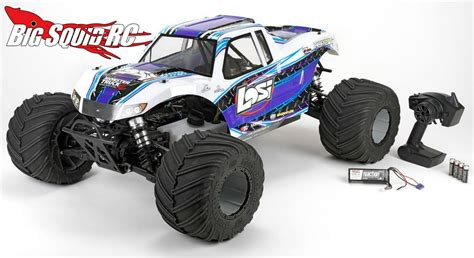 jam rc trucks losi 1 5 truck xl rtr with avc 171 big squid rc rc