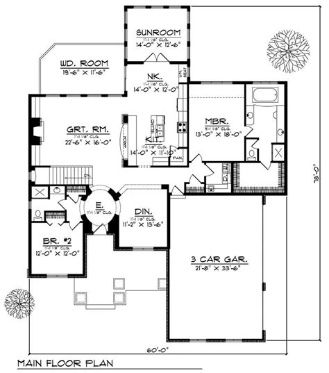 house design 101 ranch home with 2 bdrms 2249 sq ft house plan 101 1496