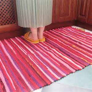 eco friendly multicolour cloth mats table mats bedroom mat waste absorbing slip resistant