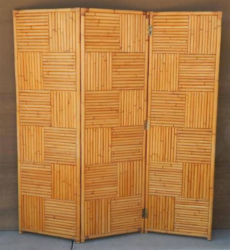 Rattan Room Divider Vintage Rattan Room Divider Or Screen For Sale At 1stdibs