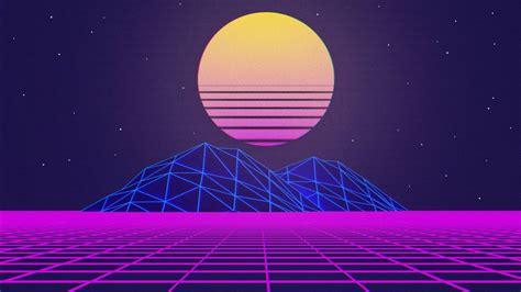 artistic retrowave sunrise hd vaporwave wallpapers hd