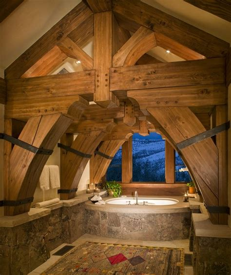 badezimmer das colorado springs umgestaltet legacy heavy timber frame custom home w observatory