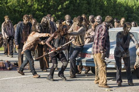 Zombies Zombies Zombies the walking dead season 8 herd is the same from