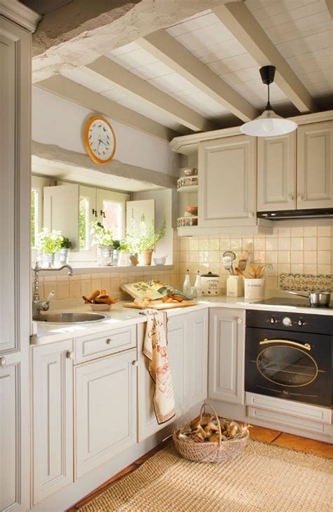 small cottage kitchens country cottage in spain home bunch interior design ideas