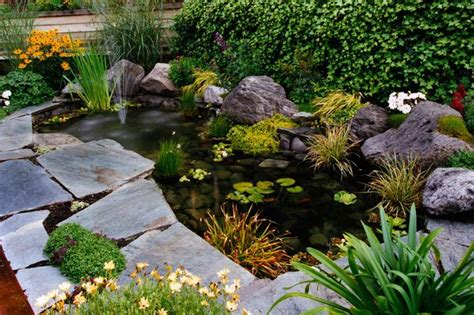 Small Garden Pond Design Ideas How To Plant A Pond By Diarmuid Gavin Mirror