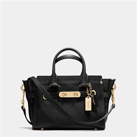 Coach Swagger Bag By Bagladies black coach bags www imgkid the image kid has it