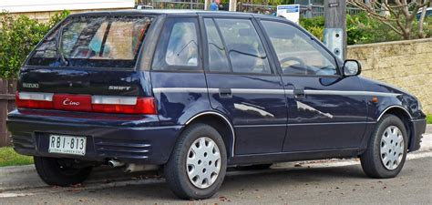 Suzuki Cino File 1994 Suzuki Cino 5 Door Hatchback 2010 09 23