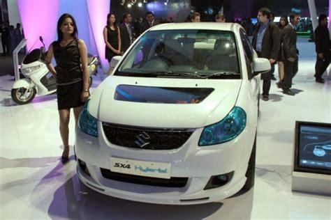 Suzuki Auto Expo Auto Expo 2010 Suzuki Unveils Sx4 Hybrid Concept Plans