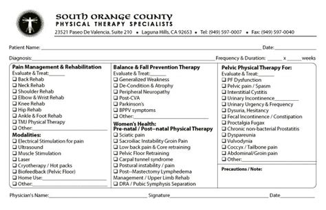 Therapy Referral Frm Pictures To Pin On Pinterest Pinsdaddy Occupational Therapy Referral Form Template