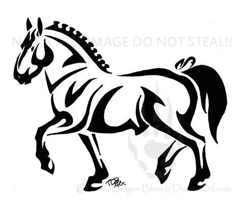 cartoon horse tattoo draft horse tattoo by toxicdragonblood on deviantart