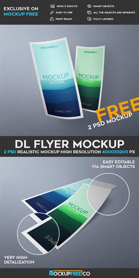 Dl Flyer 2 Free Psd Mockups Free Psd Templates Flyer Template Psd 2