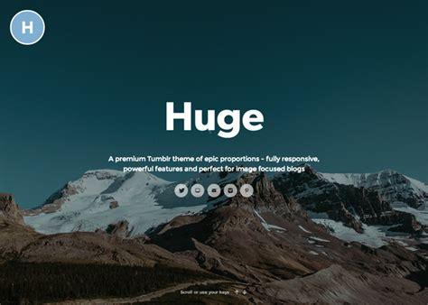tumblr themes free header huge tumblr