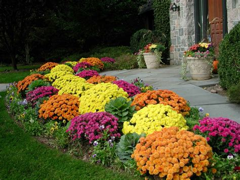 Fall Flower Garden Ideas Flower Garden Pictures Pictures Of Beautiful Flower Gardens