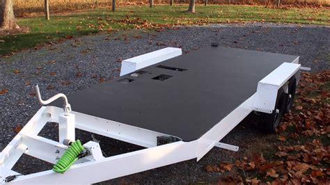 trailer spray  floor coating youtube