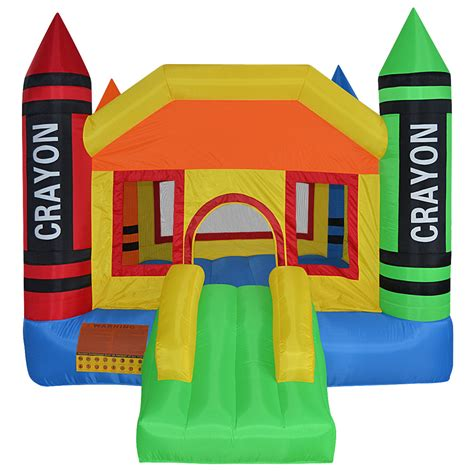 bouncing house mini crayon bounce house inflatable jump castle
