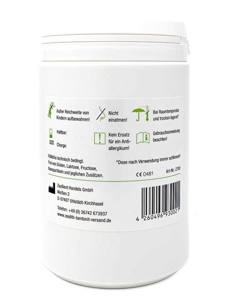 Zeolite Detox Mercury by Zeolite Powder 700g Directly From The Manufacturer