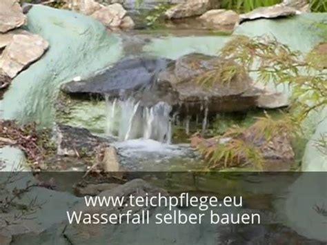 Teich Wasserfall Selber Bauen 1397 by Wasserfall Impressionen F 252 R Bauanleitung Am Teich