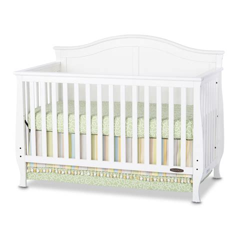 White Crib Convertible Camden 4 In 1 Convertible Crib Child Craft