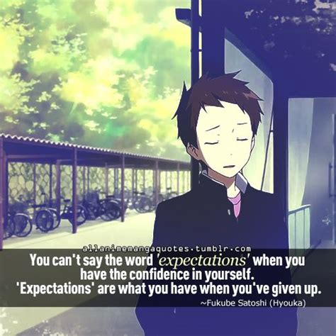 hyouka quotes google search reality escape pinterest dont give  search  tumblr quotes