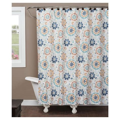 target bathroom shower curtains renee fabric shower curtain target