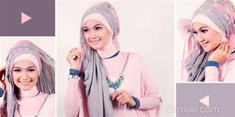 cara memakai jilbab pashmina kaos yang simple belajar hijab cara memakai pashmina video jilbab pashmina cara