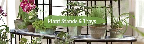 plant stands trays  shippinng gardeners supply