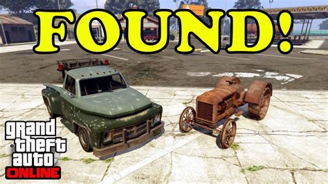 tutorial gta online ps4 gta 5 online found rare tow truck and tractor full