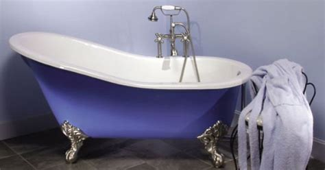 long bathtubs 7 foot 6 long hand painted slipper claw foot tub my dream